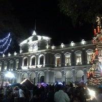 Photo taken at Palacio Municipal by Anaid R. on 12/26/2012