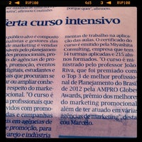 Photo taken at Jornal O Liberal by Marcelo M. on 3/21/2014