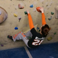 Photo taken at Doylestown Rock Gym & Adventure Center by Robert H. on 1/24/2015