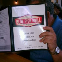 Photo taken at Blue Fish Grill by Robert H. on 9/5/2014