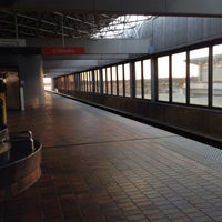 Photo taken at MARTA - Airport Station by Cassie K. on 11/10/2013
