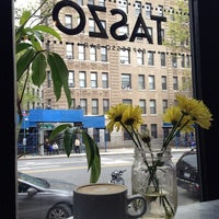 Photo taken at Taszo Espresso Bar by Cassie K. on 5/4/2014