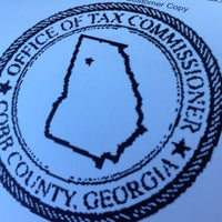 Photo taken at Cobb County Tag Office - Acworth by Dan B. on 11/13/2012