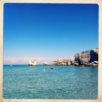 Photo taken at Spiaggia di Torre dell'Orso by Danilo on 6/21/2013