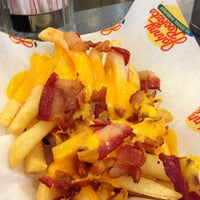 Photo taken at Johnny Rockets by Javier Y. on 1/28/2013