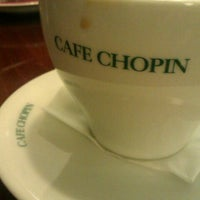 Photo taken at Chopin Cafe by Mart W. on 2/16/2013