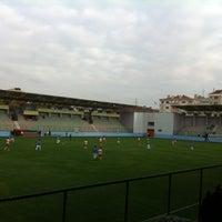 Photo taken at Maltepe Hasan Polat Stadı by Hatice M. on 11/25/2012