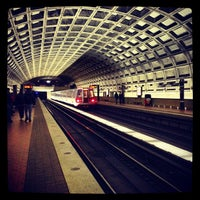 Photo taken at Smithsonian Metro Station by Kelly on 12/28/2012