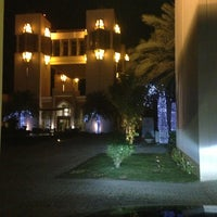 Photo taken at Al Areen Palace & Spa by Wael S. on 2/19/2013