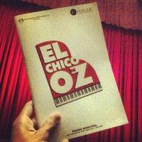 Photo taken at Teatro Municipal de Lima by Gianella H. on 6/18/2013