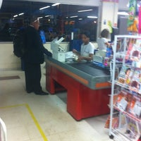 Photo taken at Super Maia Supermercados by Marcos Aurelio on 10/6/2012