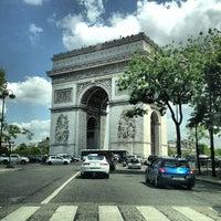 Photo taken at L'ARC Paris by Dimy on 7/5/2013