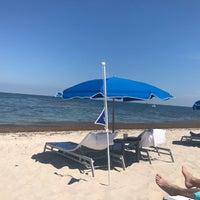 Photo taken at Ritz Carlton Key Biscayne white sand beach by Trish S. on 5/10/2017
