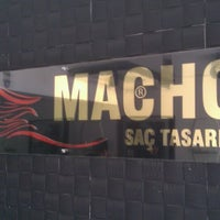 Photo taken at Macho Saç Tasarım by Nusret S. on 4/23/2013
