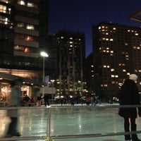 Photo taken at Kendall Square Community Ice Skating by Tom K. on 1/6/2013