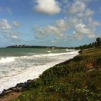 Photo taken at Praia de Pium by Alexandre on 10/14/2012
