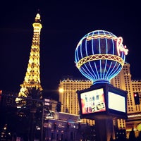 Photo taken at Paris Hotel & Casino by Erik A. on 1/23/2013