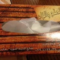 Photo taken at مطعم ملح والزاد by ⚑عـ الـلـيـل ـاشـق⚑ on 7/6/2013