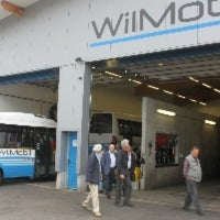 Photo taken at Busdepot WilMobil by Dorian on 5/13/2013