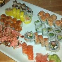 Photo taken at Koko Sushi Bar & Lounge by Julie F. on 12/1/2012