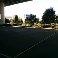 Photo taken at Berry Basketball Courts by Paul W. on 5/13/2017
