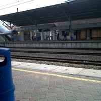 Photo taken at KTM Line - Serdang Station (KB05) by Aini A. on 4/9/2013