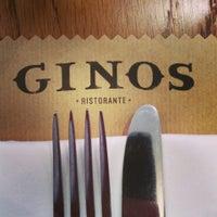 Photo taken at Ginos by Alexander U. on 6/2/2014