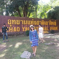 Photo taken at Khao Yai National Park by Saichon V. on 1/6/2013