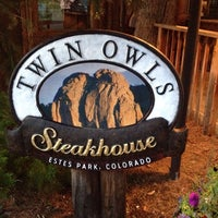 Photo taken at Twin Owls Steakhouse by Jean W. on 8/6/2014