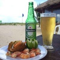 Photo taken at Praia do Cacau by Walison P. on 8/4/2016