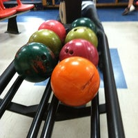 Photo taken at AMF Gulf Gate Lanes by Frankie on 1/4/2013