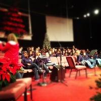 Photo taken at Rock Springs Church by Nicholas L. on 11/27/2012