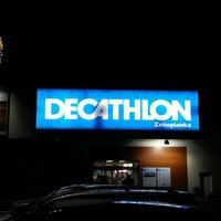 Photo taken at Decathlon by Mariusz C. on 12/12/2012