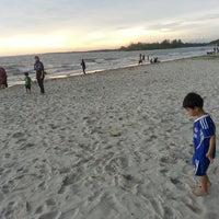 Photo taken at Bagan Lalang Beach by Shahril A. on 6/8/2013