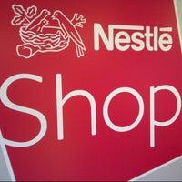 Photo taken at Nestlé Shop by Patrick G. on 2/27/2013