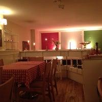 Photo taken at Trattoria San Lazzaro by Gamze on 11/25/2012