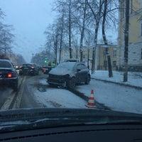 Photo taken at Площадь Жертв Революции by Георгин on 12/3/2016