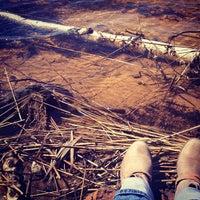 Photo taken at Visaginas Beach by Ann on 5/2/2013