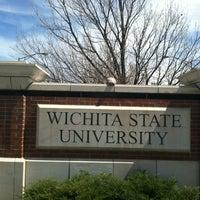 Photo taken at Wichita State University by And on 4/6/2013