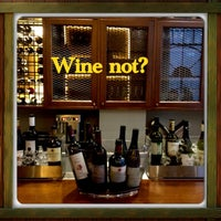 Photo taken at Wine not? by Efi on 4/6/2013