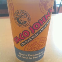 Photo taken at Taco John's by Greg L. on 5/27/2013