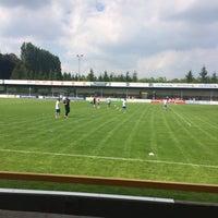 Photo taken at Marcel De Kerpelstadion by Dries on 6/21/2014