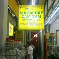 Photo taken at Singapore Zam Zam Restaurant by Syed Mustaqim S. on 6/18/2013
