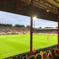 Photo taken at KV Kortrijk by Laetitia ❦ on 8/18/2018