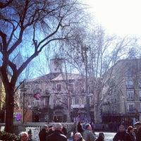 Photo taken at Plaza de Tirso de Molina by Alex G. on 2/14/2013