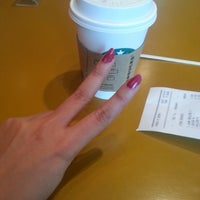 Photo taken at Starbucks by Sarah k. on 3/13/2013