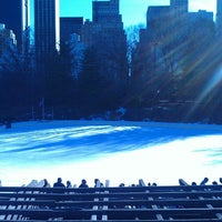 Photo taken at Wollman Rink by Matthew C. on 3/9/2013