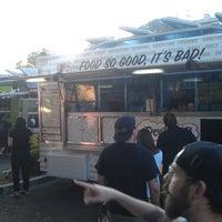 Photo taken at La Mesa Food Truck Gathering by Cho I. on 8/10/2013