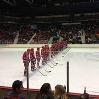 Photo taken at Herb Brooks Arena by CJ on 12/9/2012