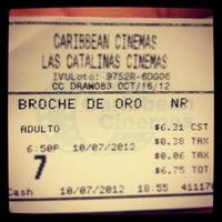 Photo taken at Caribbean Cinemas by Jesus on 10/8/2012